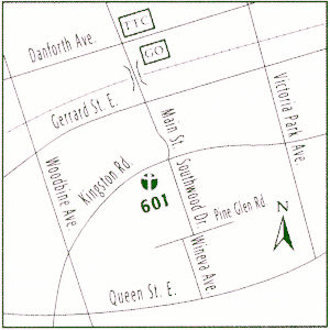 601 Kingston Rd (Linemap)